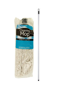 Bulk Buys Cotton Cleaning Mop - 4 Pack