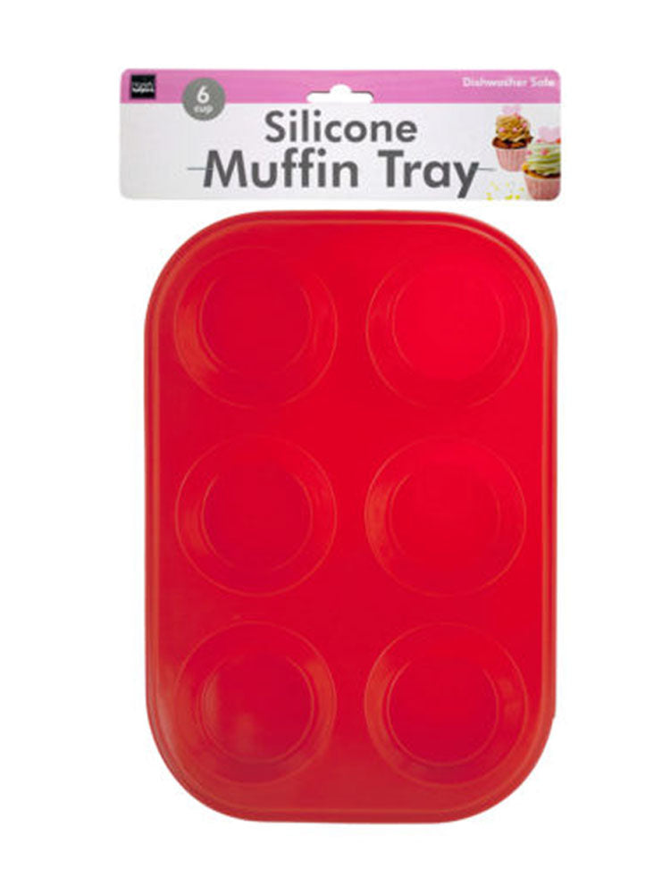 Silicone Muffin Tray - 6 Pack