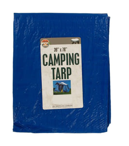 Bulk Buys Multi-Purpose Camping Tarp - Pack of 12
