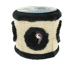 Multi-Textured Mouse Hole Cat Toy