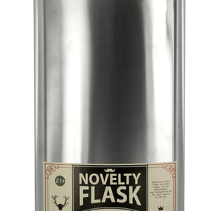 64 oz. Oversized Stainless Steel Novelty Flask