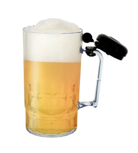 Novelty Beer Mug With Bell - Pack of 4
