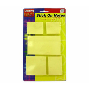 Bulk Buys Stick-on notes value pack Case Of 24