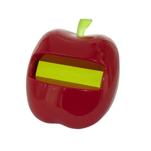 Bulk Buys Apple-Shaped Post-It Note Pop-Up Dispenser Pack Of 1