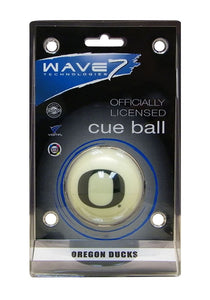 Wave7 Oregon Sports Team Logo Officially Licensed Cue Ball
