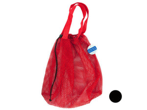Mesh Drawstring Beach Bag, Pack of 12