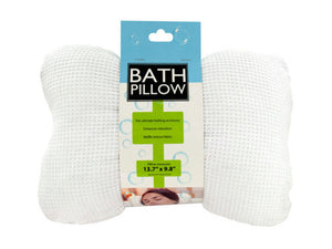 Kole Imports Soft Cloth Bath Pillow with Suction Cups - Set of 4