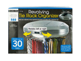 Revolving Tie Rack Organizer - Pack of 2