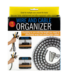 Wire and Cable Organizer - Pack of 8