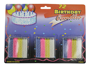Birthday Candle - Set of 24