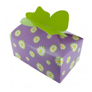 Spring Flowers Candy & Cookie Boxes - Pack of 24