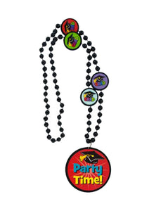 Graduation Beaded Party Time Necklaces - Pack of 5