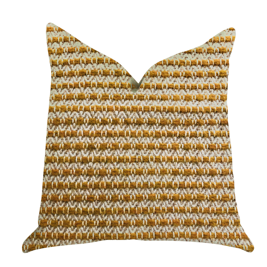Plutus Brands Hamilton Braid Double Sided Queen Luxury Throw Pillow, 20