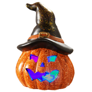 "5"" Lighted Jack-O-Lantern"