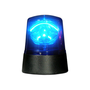 Party decoration Mini Police Beacon Blue Batt