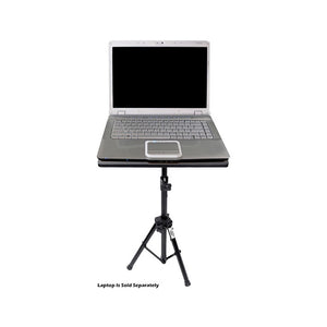 Pro DJ Laptop Tripod Adjustable Stand For Notebook Computer