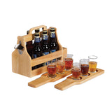 Picnic Plus Brew Fest 6 Pack Holder WOOD