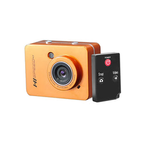 "PyleSports Hi-Speed HD 1080P Action Camera Hi-Res Digital Camera/Camcorder with Full HD Video, 12.0 Mega Pixel Camera & 2.4"" Touch Screen (Orange Color)"