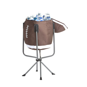 Football Cooler BROWN