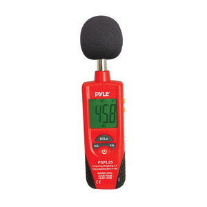 Sound Level Meter with A and C Frequency Weighting