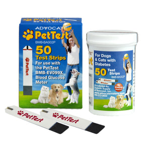 Advocate PetTest Dog and Cat Blood Glucose Test Strips