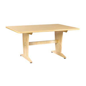 Shain Solutions Diversified Woodcrafts Art/Planning Table, UV Finish - Natural Birch Laminate