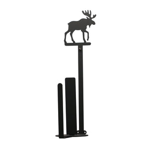 16 Inch Moose Paper Towel Holder Wall Mount