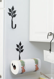 12 Inch Leaf Paper Towel Holder Wall Mount