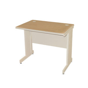 "Pronto Training Table Finish: Oak Laminate/Putty, Size: 29"" H x 36"" W x 30"" D"