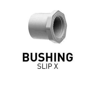 "Bushing - Slip X Thread - 1""X1/2"""