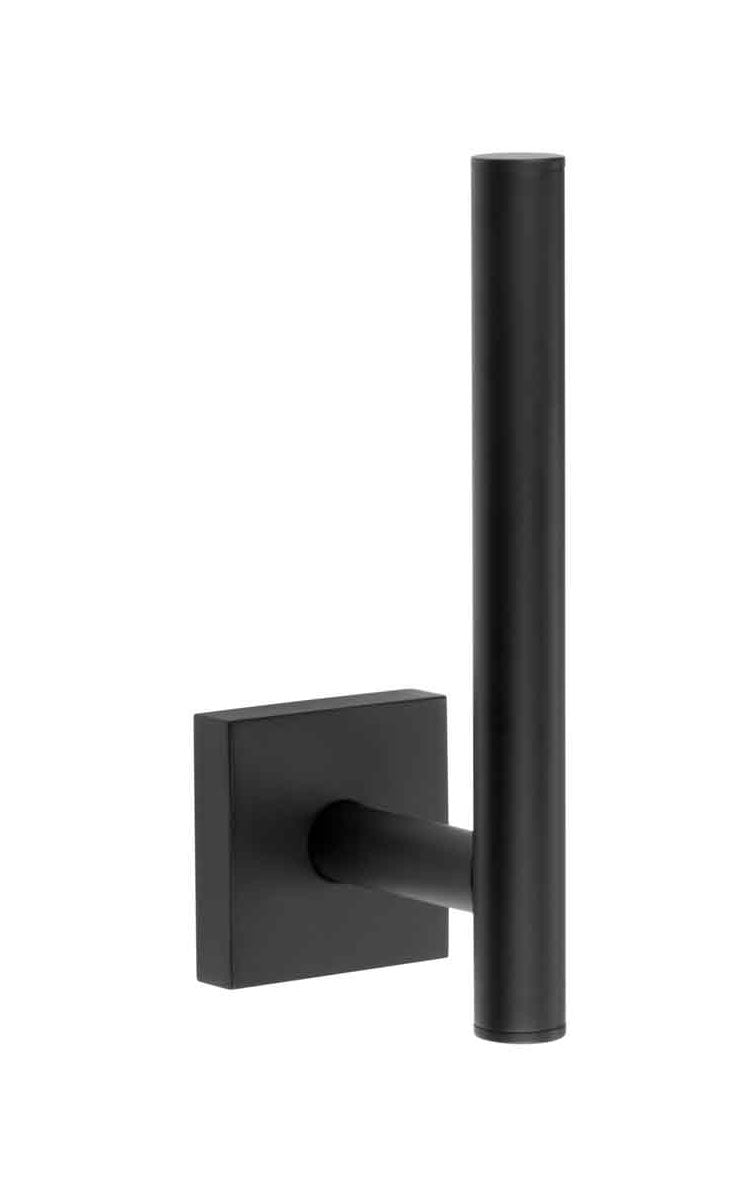 SMEDBO House Bathroom Accessory Wall Mounted Spare Toilet Paper Holder, Matte Black