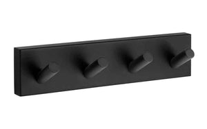SMEDBO House Quad Hook Matte Black