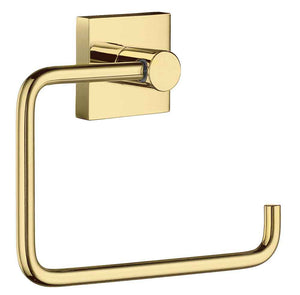 Smedbo SME, Polished Brass RV341 Toilet Roll Euro Holder Without Lid