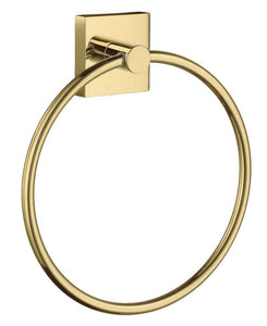 Smedbo SME, Polished Brass RV344 Towel Ring