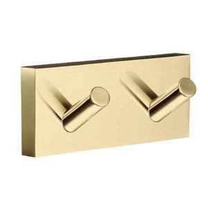 Smedbo SME, Polished Brass RV356 Towel Hook Double