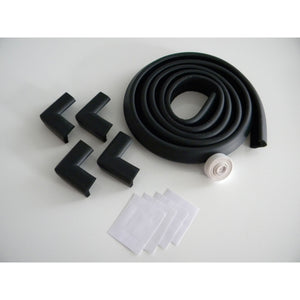 "Foam Edge and Four Corner Protectors - 2""H - Black"