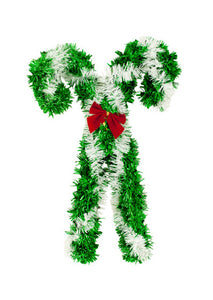 Bulk Buys Christmas Candy Canes Wall Decoration - 12-PK
