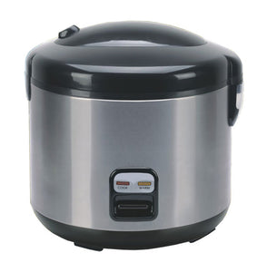 Sunpentown SC-1202SS Home Indoor 6-cups Rice Cooker With Stainless Body