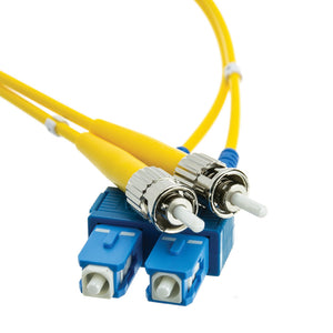 Fiber Optic Cable, SC / ST, Singlemode, Duplex, 9/125, 10 meter (33 foot)