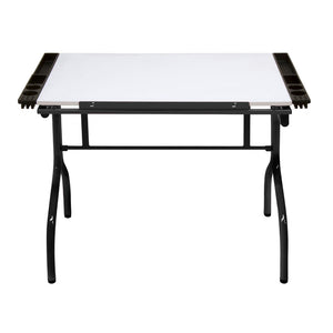 Folding Craft Station In Black / White