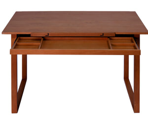 Ponderosa Wood Topped Table / Sonoma Brown