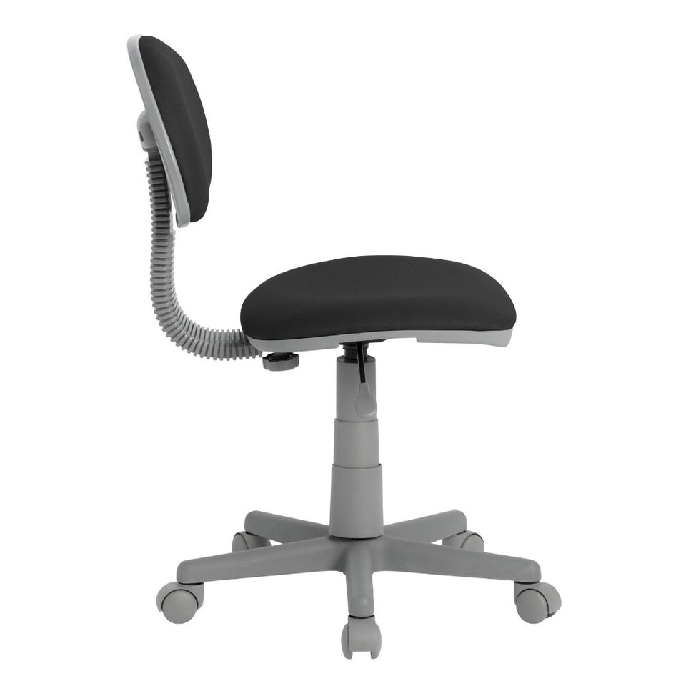 Deluxe Task Chair In Black / Gray