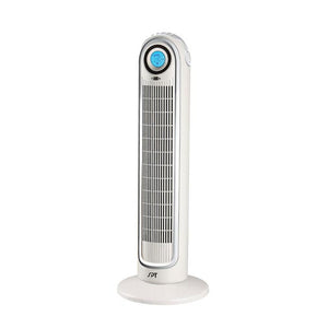 Sunpentown Remote Controlled Tower Fan with ION