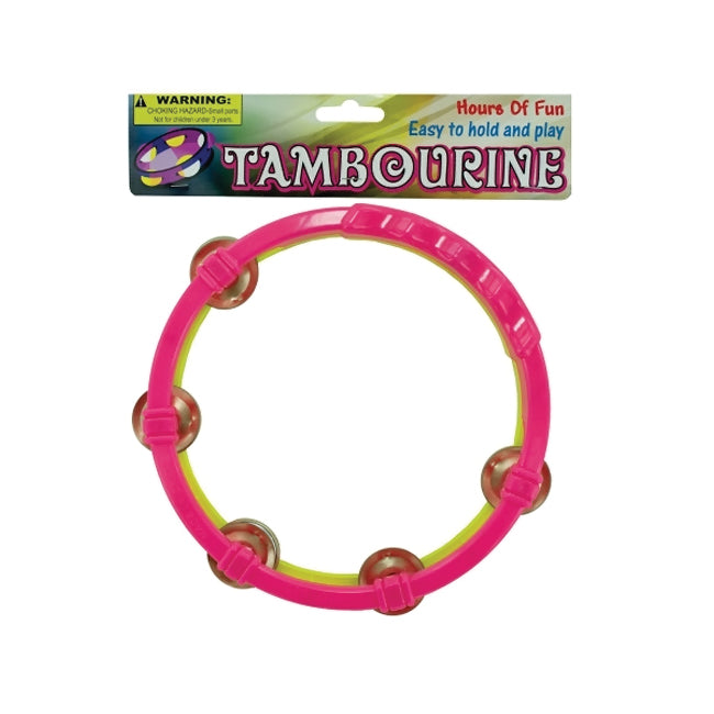 Toy Tambourine - Pack of 24