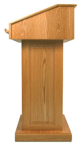 Victoria Lectern - Without Sound in Mahogany