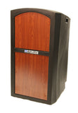 Amplivox Pinnacle Lectern - No Sound - Select Cherry