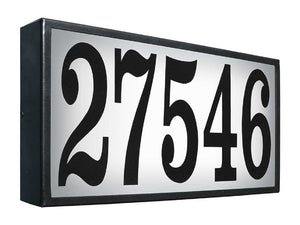 QualArc Extra-Large LED Address Plaque