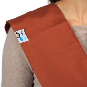 HugaMonkey Baby Sling Carrier for Newborn Babies, Infants and Toddlers - Burnt Orange, Extra Large