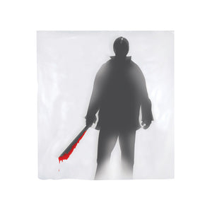 Global Trend Innovations Halloween Decoration Shower Curtain Machete Killer