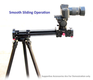 "Shootvilla Star Linear Slider 21"" with Double Travelling System for Canon Nikon, DSLR"